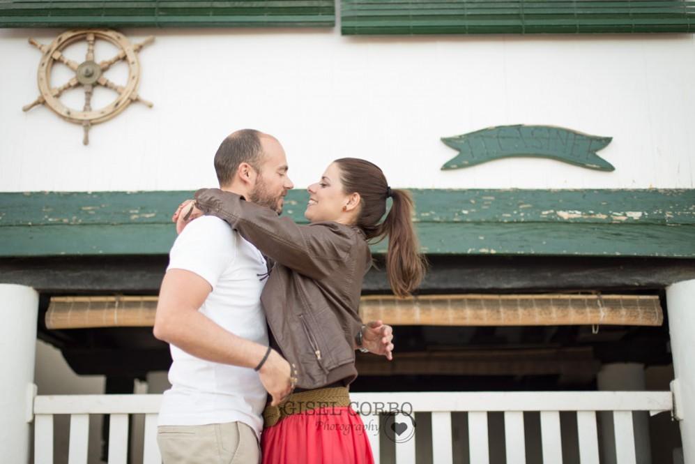 Preboda primavera casas pescadores fotógrafa sitges