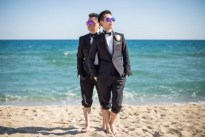 boda-barcelona-gay-playa-mar