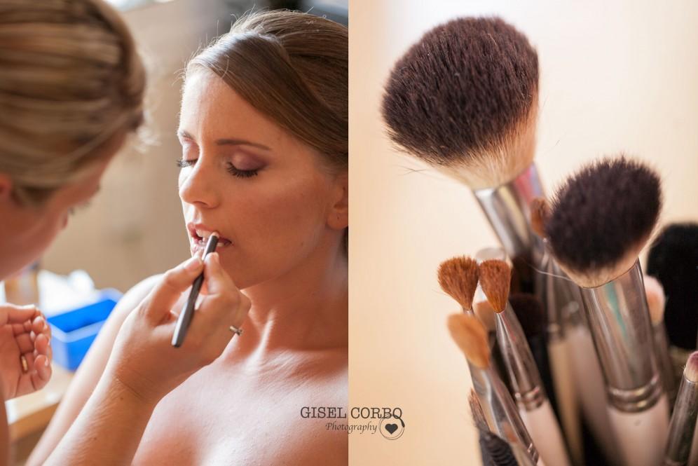Maquillaje natural duradero novia barcelona