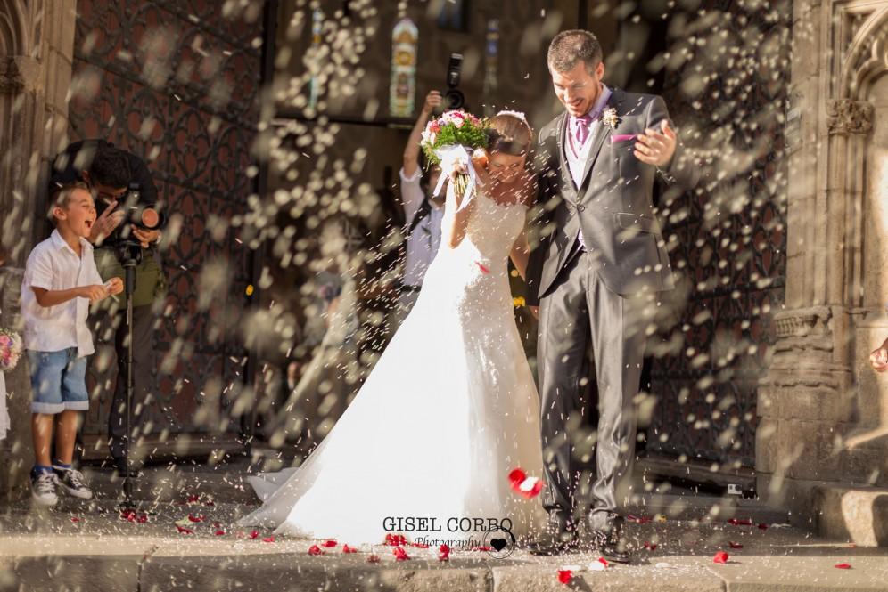 boda barcelona arroz felicidad basilica