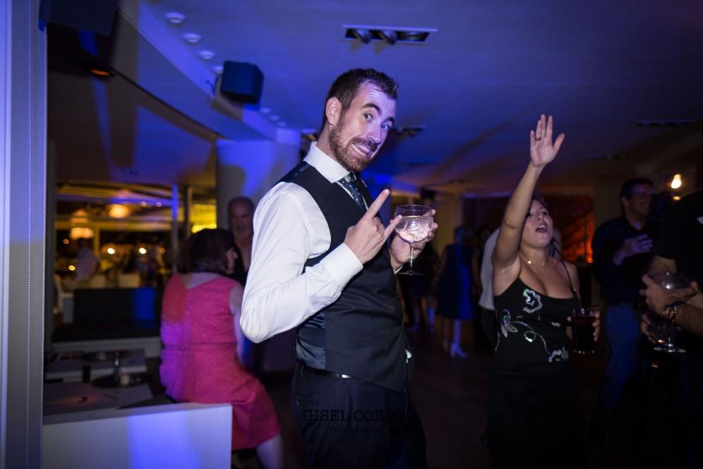 boda barcelona baile divertido amigos