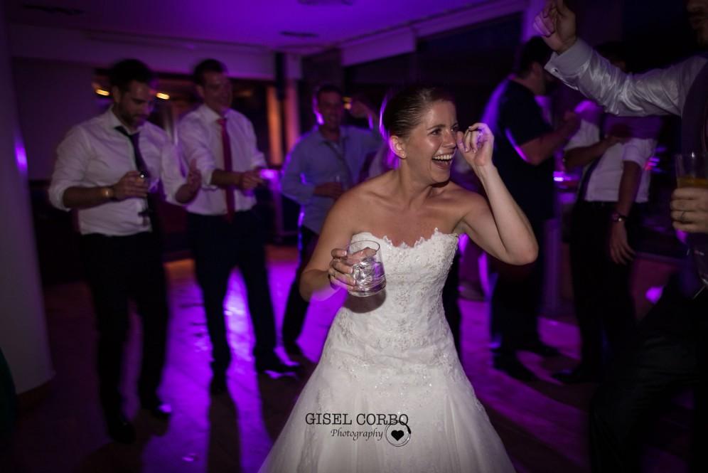 boda barcelona baile divertido novia fiesta