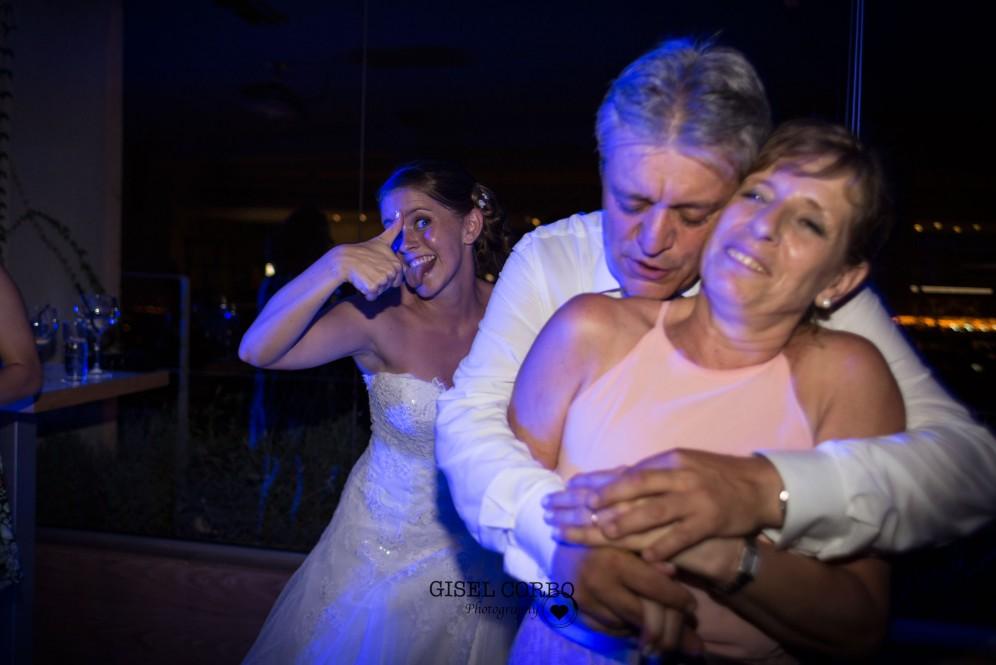 boda barcelona baile padres novia