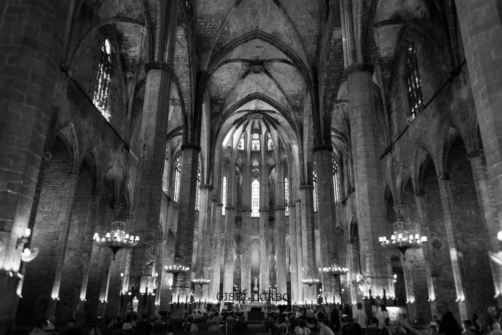 boda barcelona basilica santa maria del mar