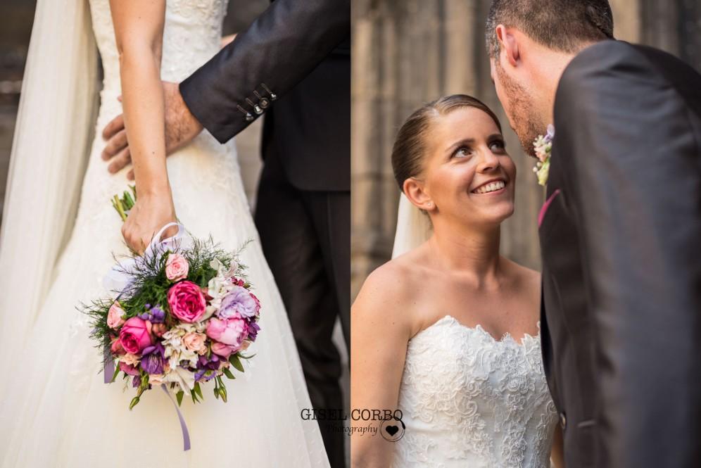 boda barcelona fotografa novios detalles amor