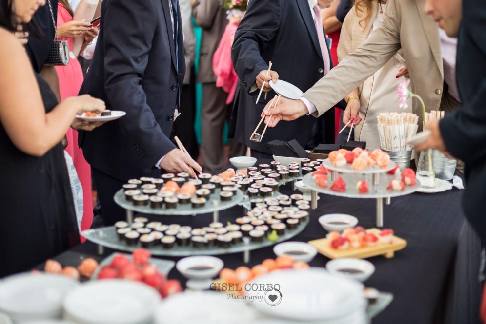boda barcelona mirabe sushi