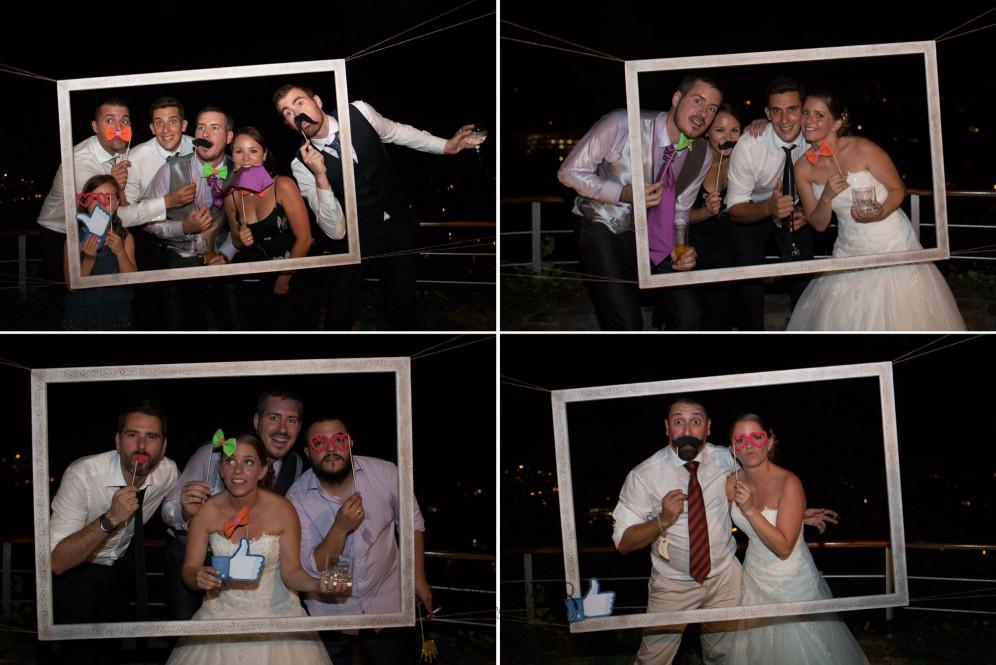 boda barcelona photocall marco cuadro fiesta