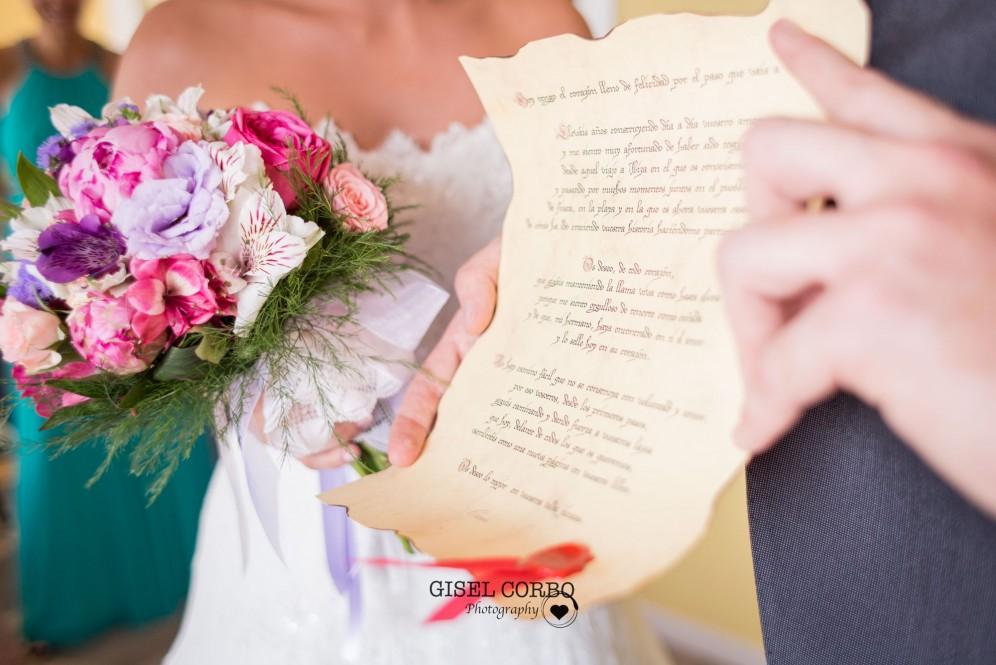 boda barcelona ramo poema padrino
