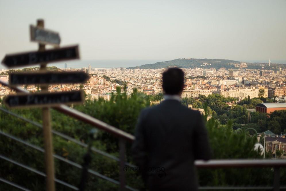 boda barcelona tibidabo restaurant mirabe