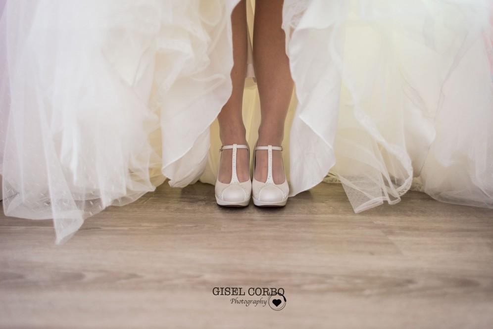 boda barcelona zapatos novia blancos