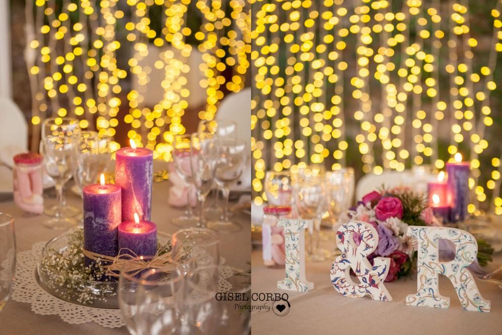 detalles decoracion boda barcelona mesa