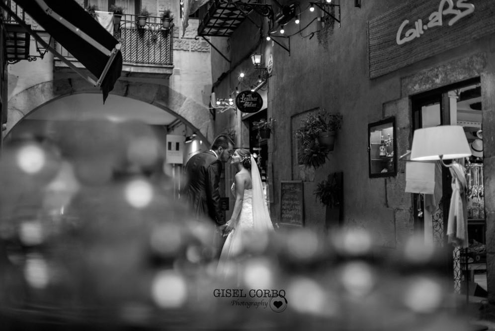 fotografo boda barcelona fotos novios born calles