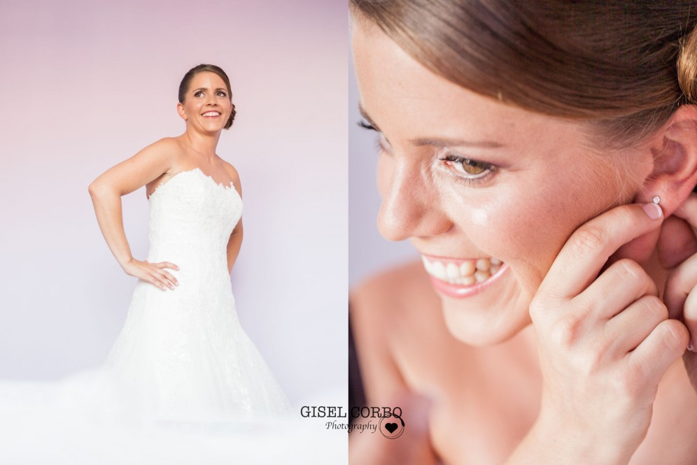 fotografo boda barcelona mirada novia feliz previo
