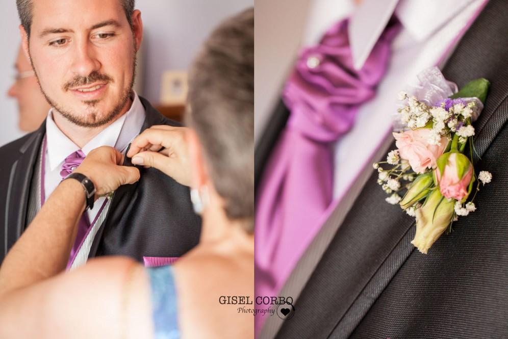 fotografo boda barcelona traje novio preparativos