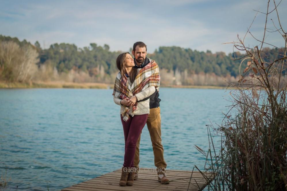 038 sesion fotos rustica banyoles girona barcelona lago