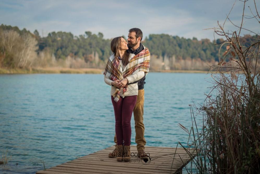 039 sesion fotos girona banyoles camino madera lago