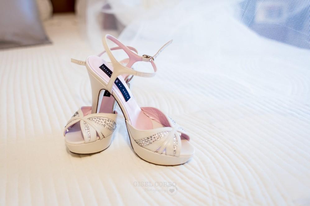 2 zapatos novia altos secretos de novia