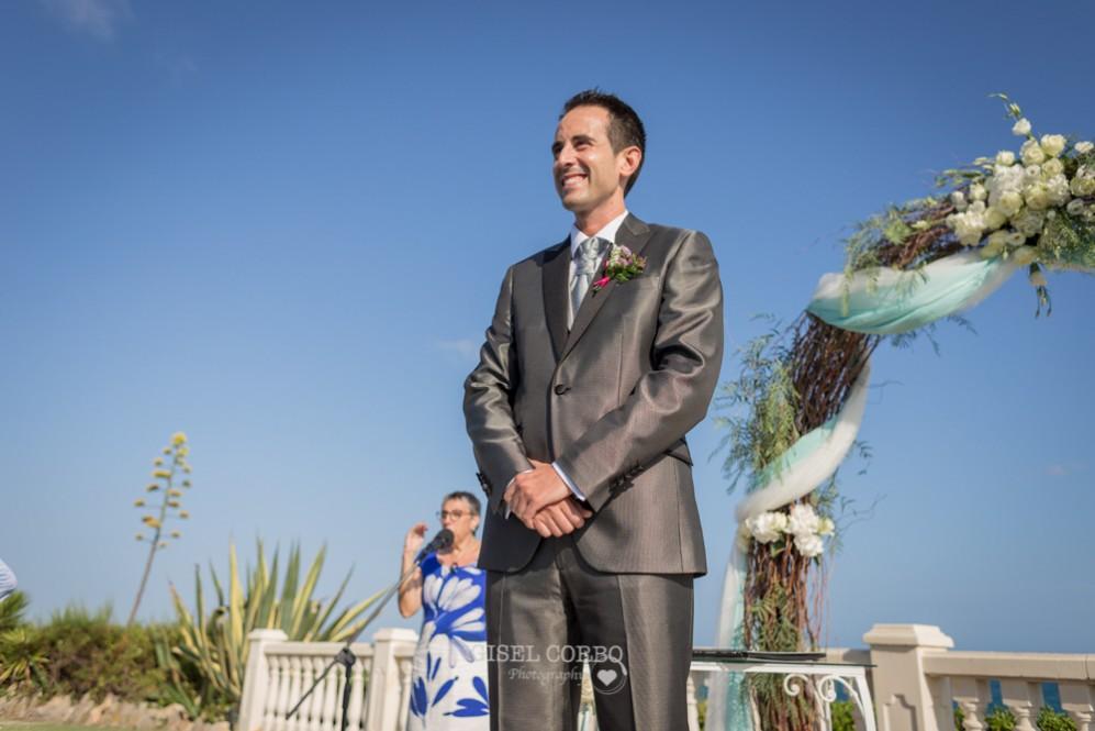 21 novio ve a novia por primera vez en el altar