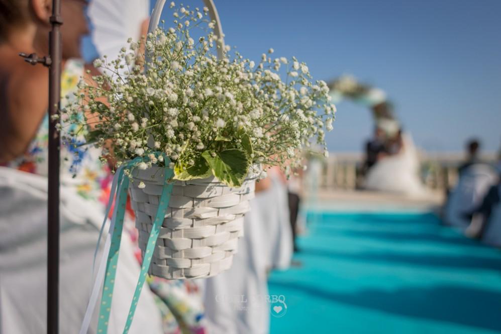 24 detalles de boda estilo marinera en la p'laya