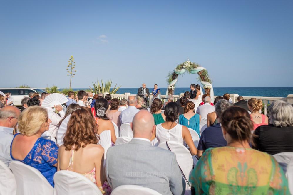 27 boda junto al mar dia de sol