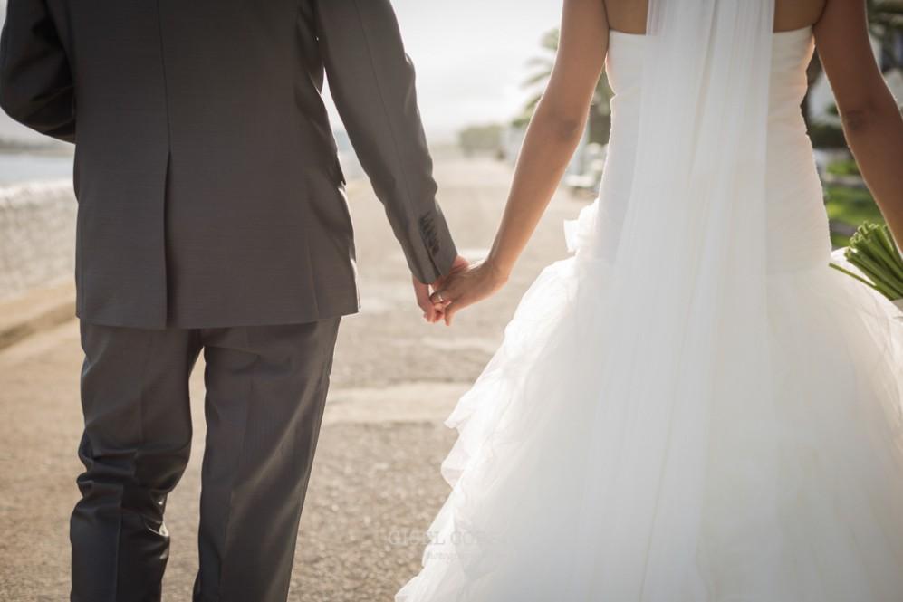 44 reportaje de boda manos novios